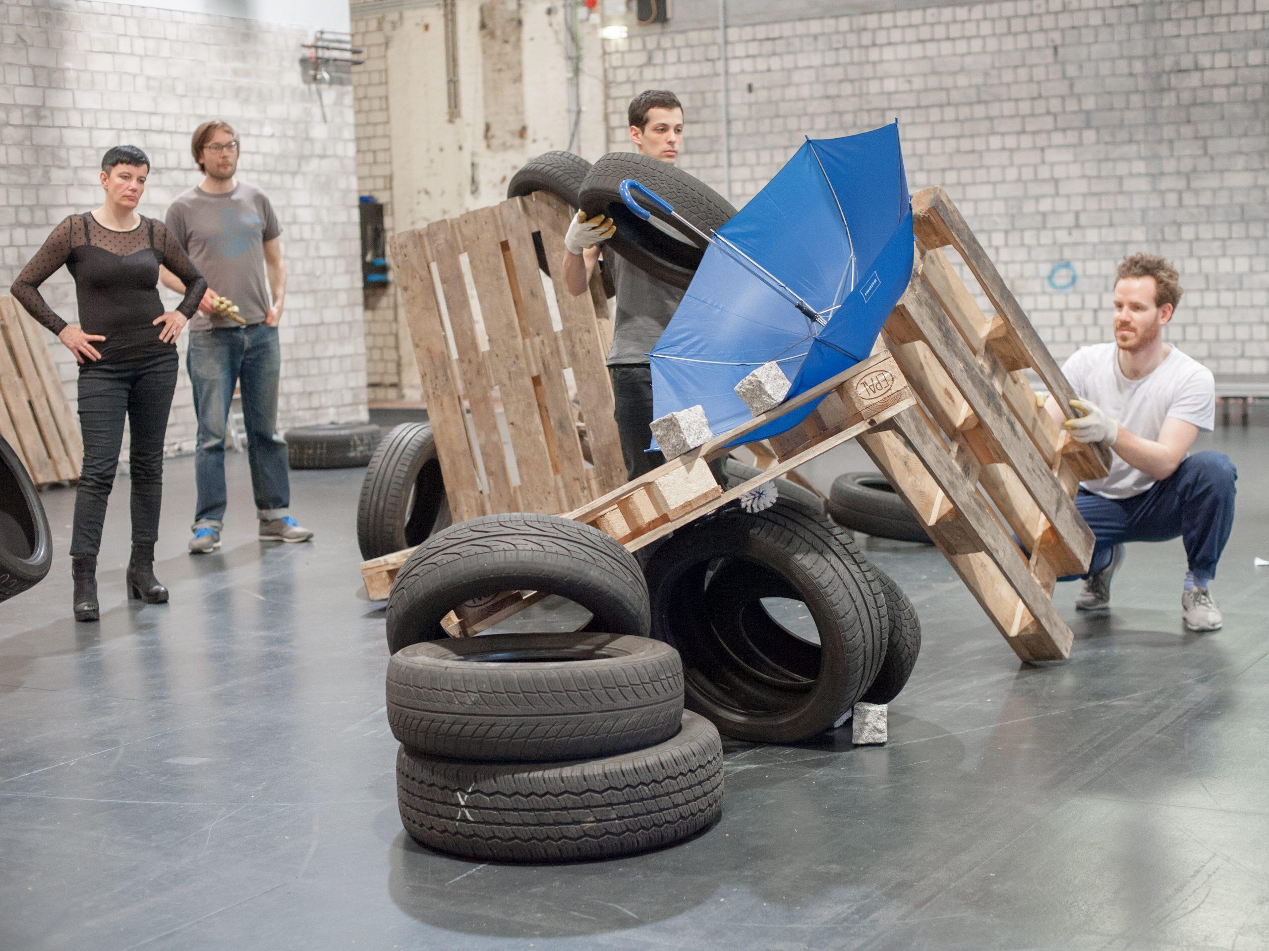Moritz Frischkorn, A Careful Process of Composition: On Barricades and Dances, 2016, Hamburg