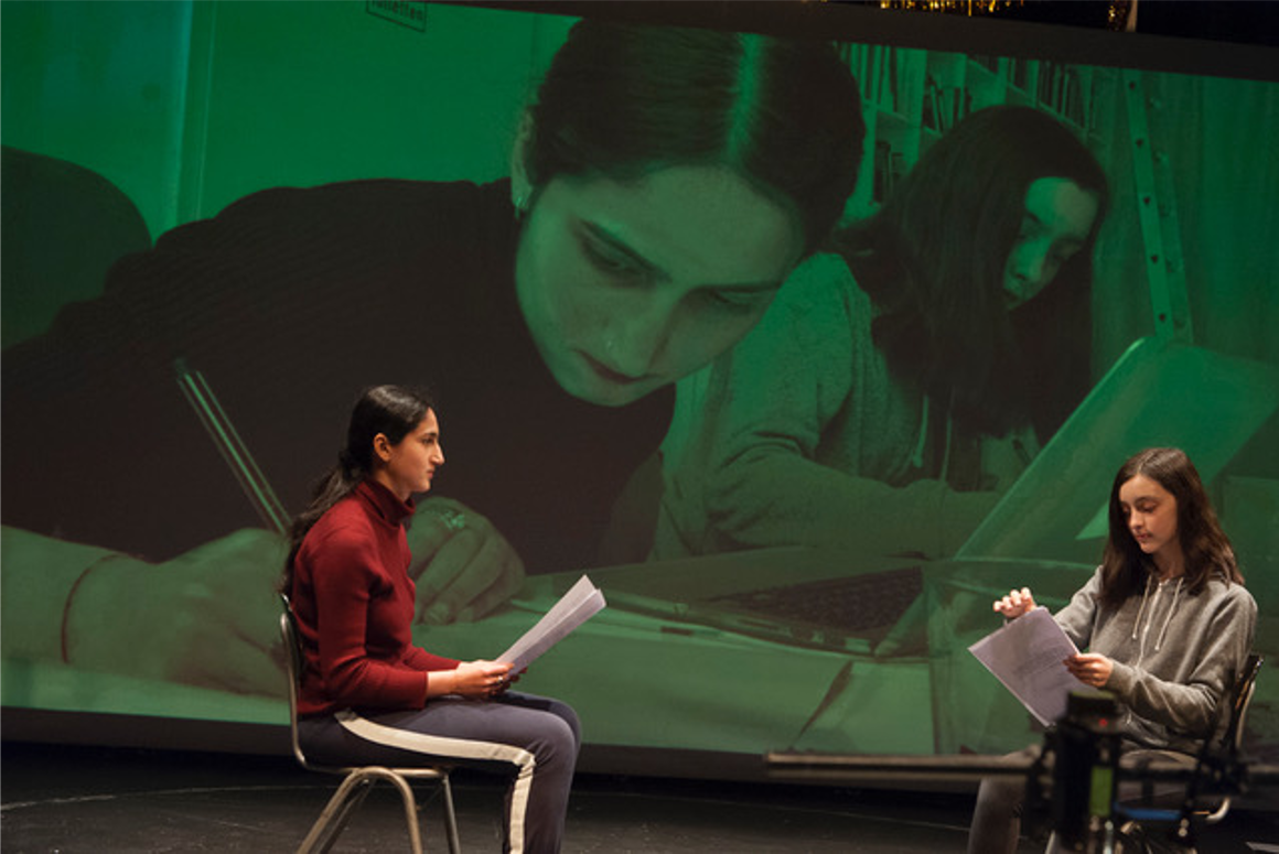 Maike Gunsilius, The School of Girls II – A Citizens' Encounter, 2017, Hamburg